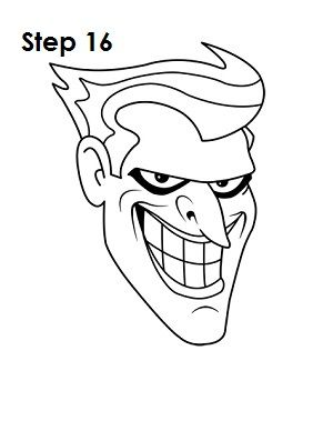 Drawing Joker Cartoon : drawing, joker, cartoon, Joker, Drawings,, Cartoon