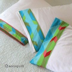 GO! Aztec Hunter Star Pillowcases Pattern (PQ10525)