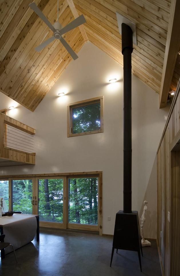 The Polygon Studio A Tiny Guest House And Artist S Studio Humble Homes Modern Small House Design Cool House Designs Tiny Guest House
