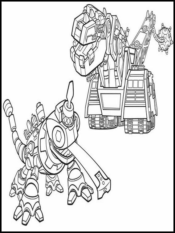 Dibujos para Colorear. Dibujos para imprimir y pintar Dinotrux 9 ...