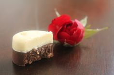 Svenja's Koch- und Backblog: Schokoladen-Nougat-Krokant-Pralinen