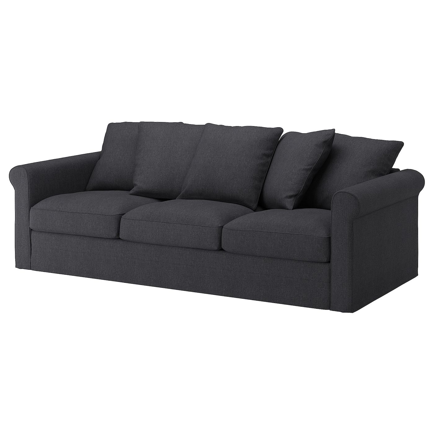 Donker Grijze Slaapbank.Ikea Gronlid Cover For Sofa Sporda Dark Gray Sofa Deep Seat