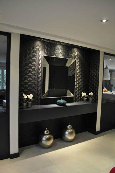 emejing salle de bain gris et noir contemporary awesome interior - Salle De Bain Gris Et Noir
