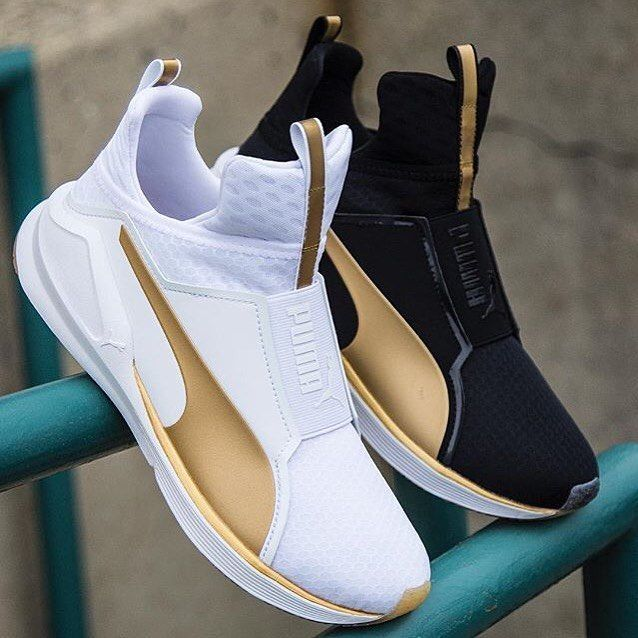 Puma FIERCE GOLD Chaussures Mode Sneakers Unisex
