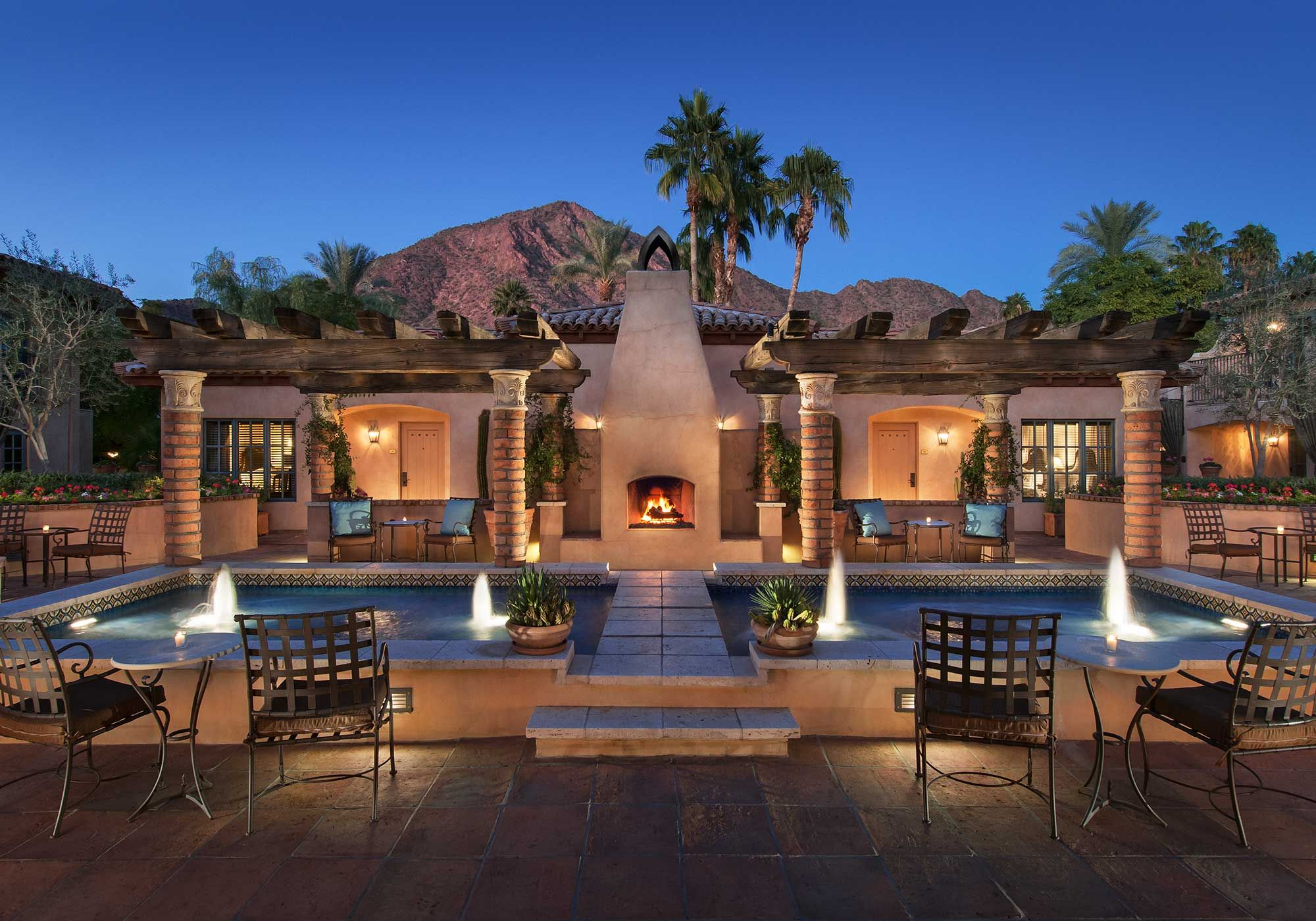 phoenix arizona hotels & resorts | royal palms resort & spa