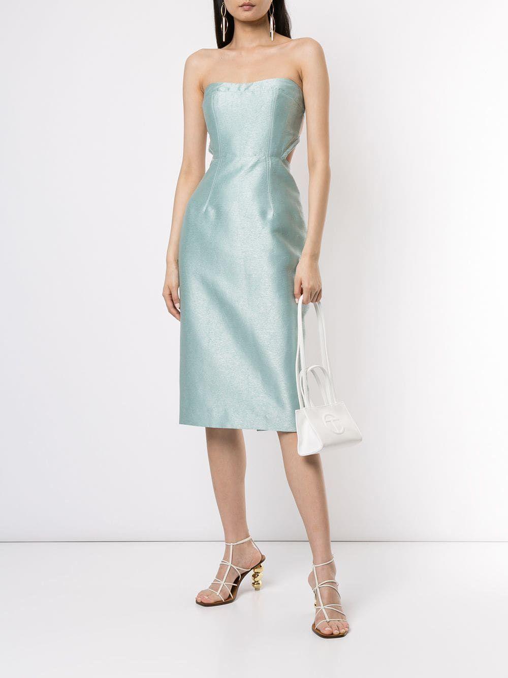 Manning Cartell Strapless Midi Dress Farfetch Dresses Strapless Midi Dress Midi Dress [ 1334 x 1000 Pixel ]