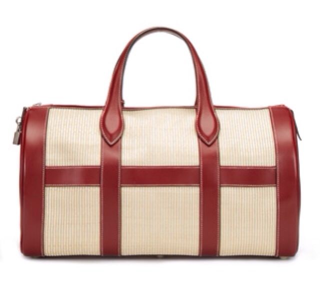 Hermes Crinoline Duffle Bag Elegant Man Must Haves