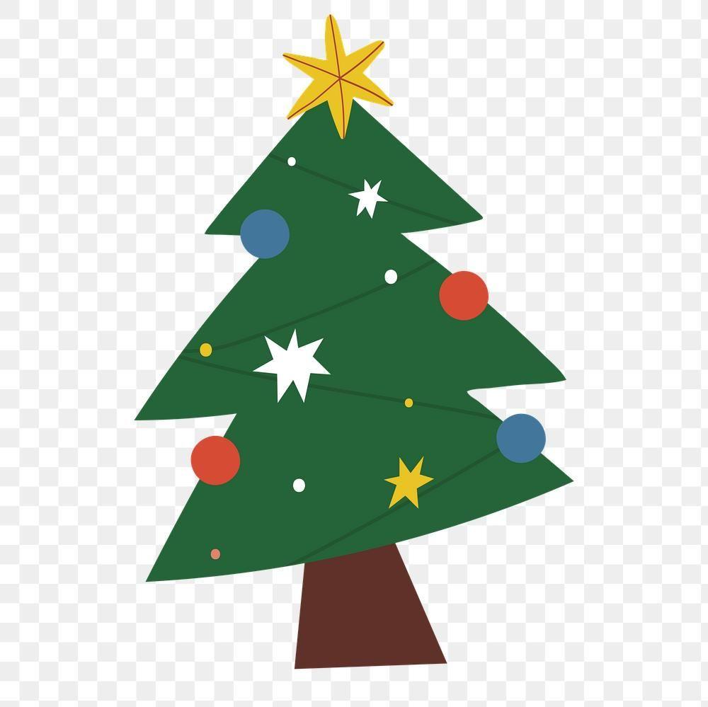 Christmas Tree With Star Free Vector Icons Designed By Freepik Christmas Tree Silhouette Tree Free Christmas Vectors