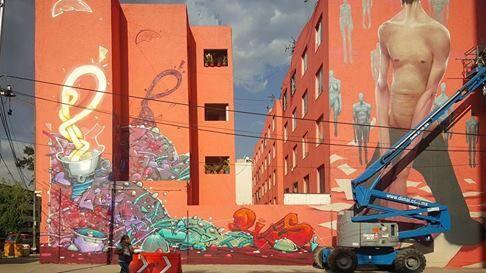 """Enric Sant for Cromática in Pino Suarez """"Plaza Comercial"""" Mexico City, Mexico, 2017"""