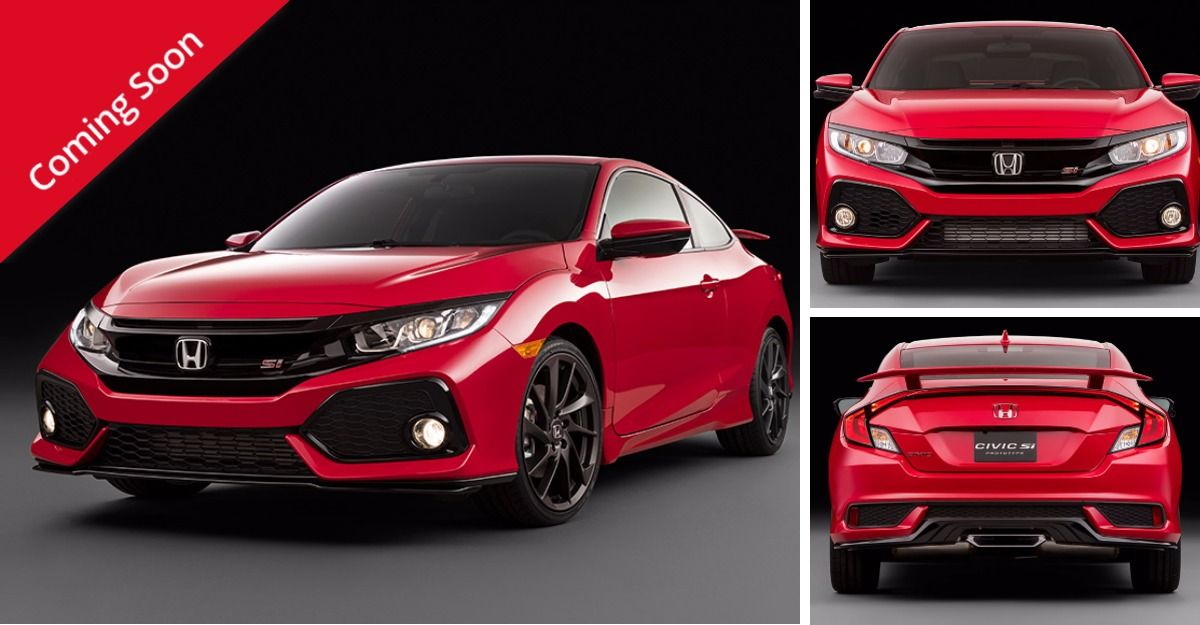 2017 Civic Si The Sience of Speed Honda civic si