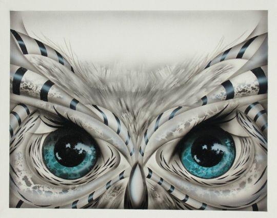 Owl By Darrell Driver Owl Eye Tattoo Owl Eyes Owl