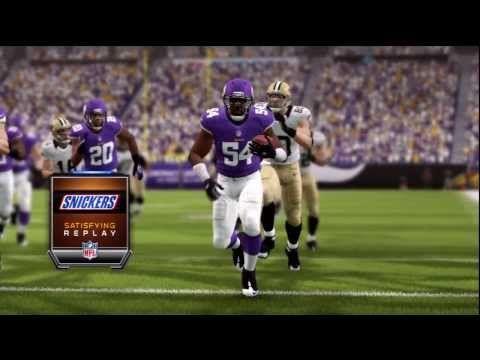 Madden 25 - Minnesota Vikings Big Hit on RB