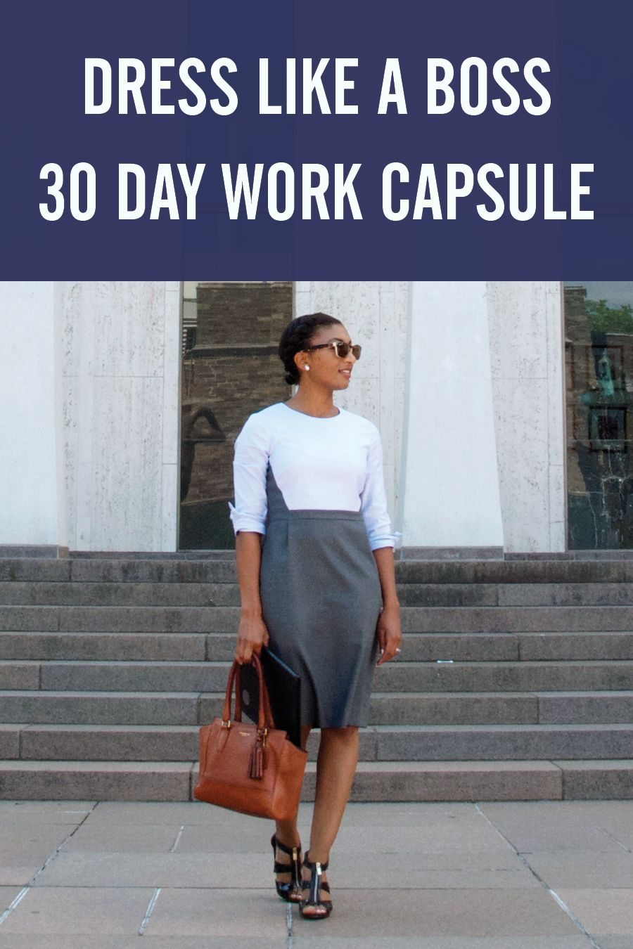 960a06d49 How to create a capsule wardrobe of 30 work outfits from 23 clothing items  using Stylebook