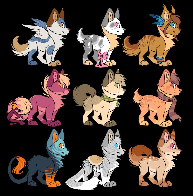Puppy adoptables [OPEN] by Kamirah on deviantART Animal