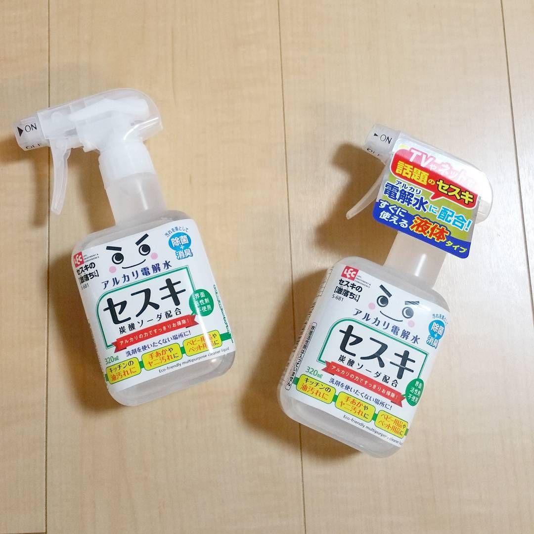 掃除に使える万能洗剤 なんでも使える セスキ炭酸ソーダ の使い方7
