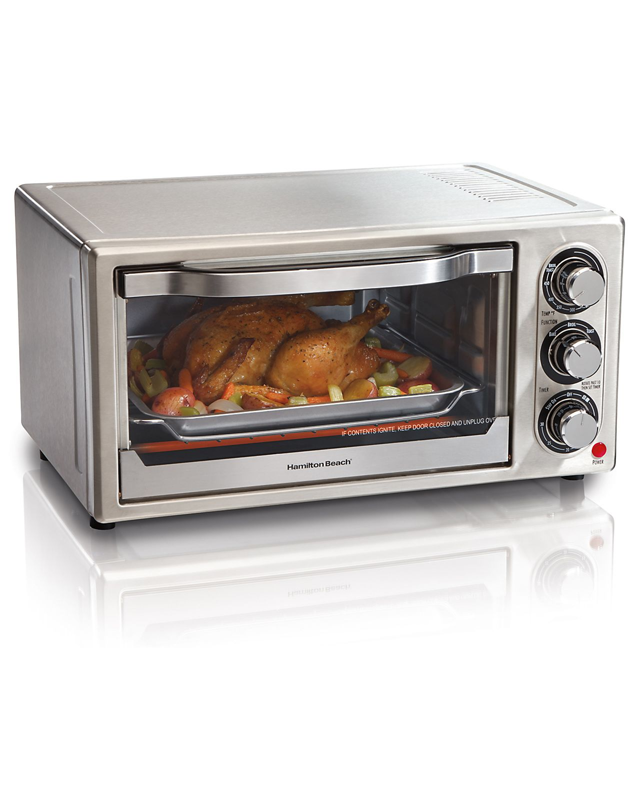 Hamilton Beach Brands31511 6 Slice Toaster Oven Stainless Steel
