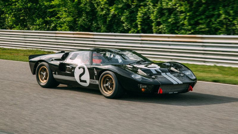Winning 1966 Ford Gt40 Returns To Le Mans After Restoration Ford