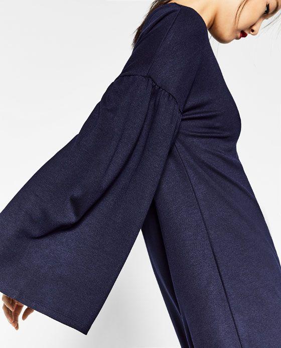 Blaues kleid zara