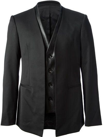 ac261dee0acba GIULIANO FUJIWARA - waistcoat jacket | Menswear | Waistcoat men ...
