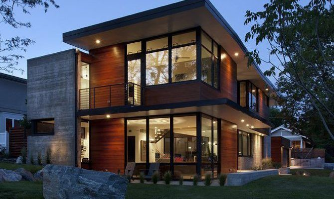 Modern Industrial House Plans Owingslawrenceville Contemporary
