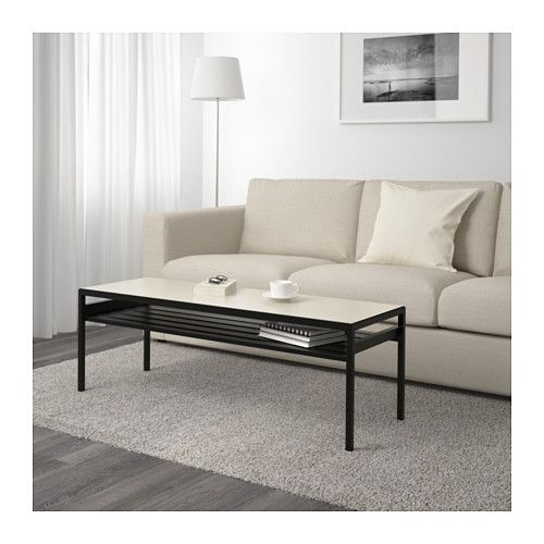Tv board ikea holz  NYBODA Coffee table w reversible table top, black/beige | Decorating