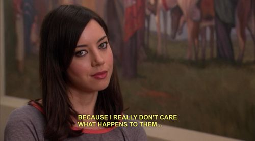 the 20 most relatable april ludgate quotes from parks and recreation quotes. Black Bedroom Furniture Sets. Home Design Ideas