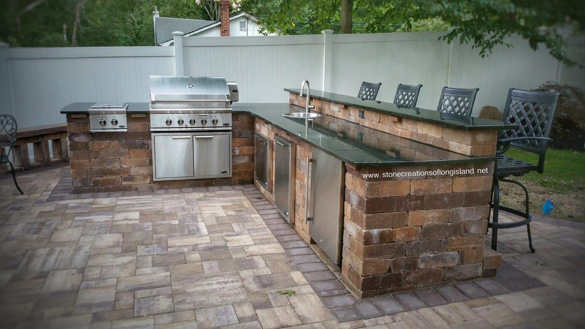 Diy outdoor kitchen kits  Want an outdoor space thatus perfect for outdoor entertaining Add