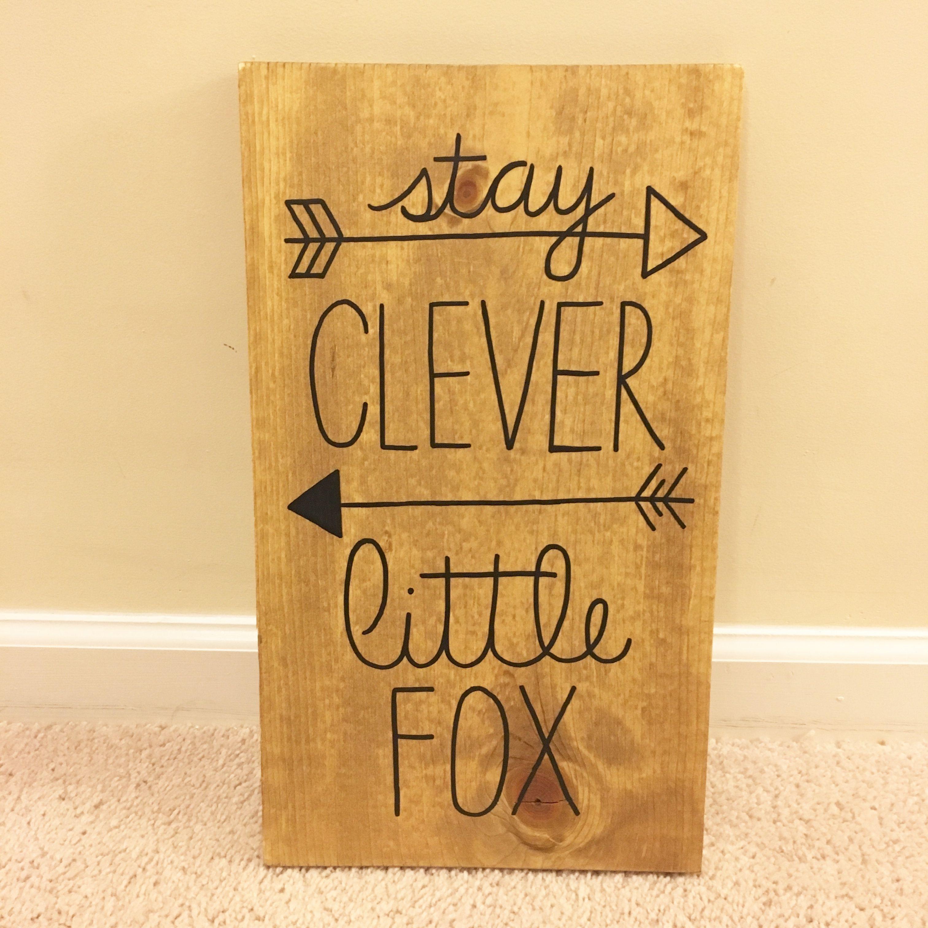 Wood Sign, Baby Shower Gift, Woodland Nursery Decor, Be Brave Little ...