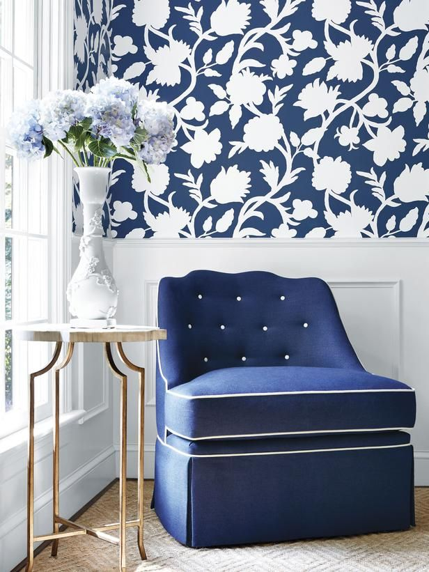 New Ways To Decorate With Shades Of Blue Blue Rooms White Decor Blue Decor