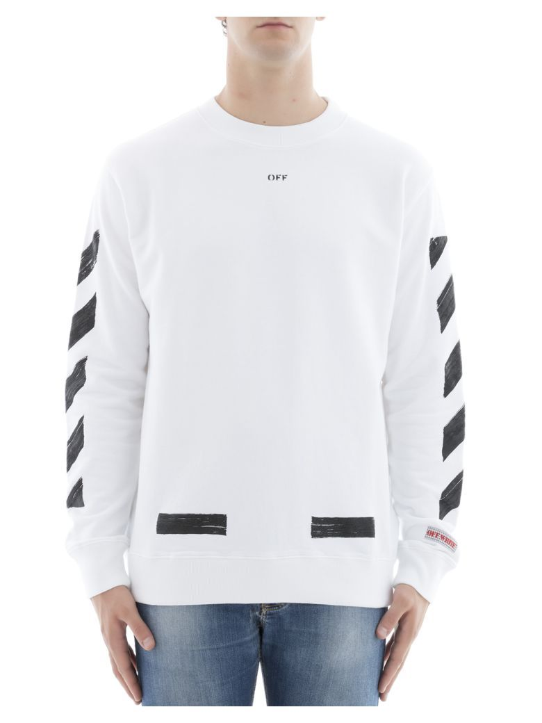 OFF-WHITE White Cotton Sweater. #off-white #cloth # | Off-White ...