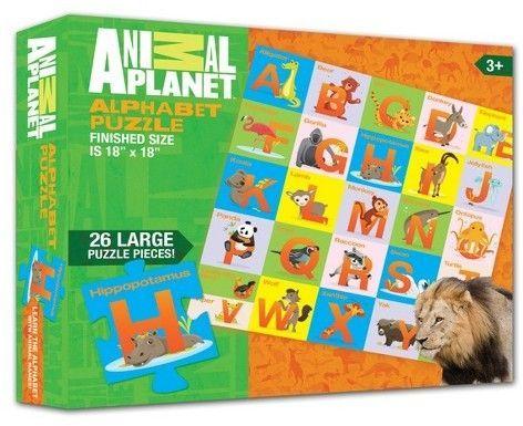 Smart Play Animal Planet Animal Alphabet Puzzle 26pc Alphabet Puzzles Animal Alphabet Animal Planet