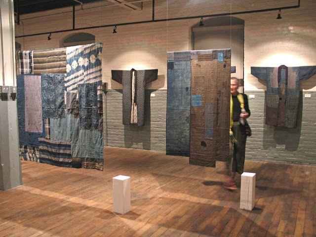 Jennifer Coyne Qudeen Kimono Exhibition At 2005 Surface Design Association Conference In Kansas City