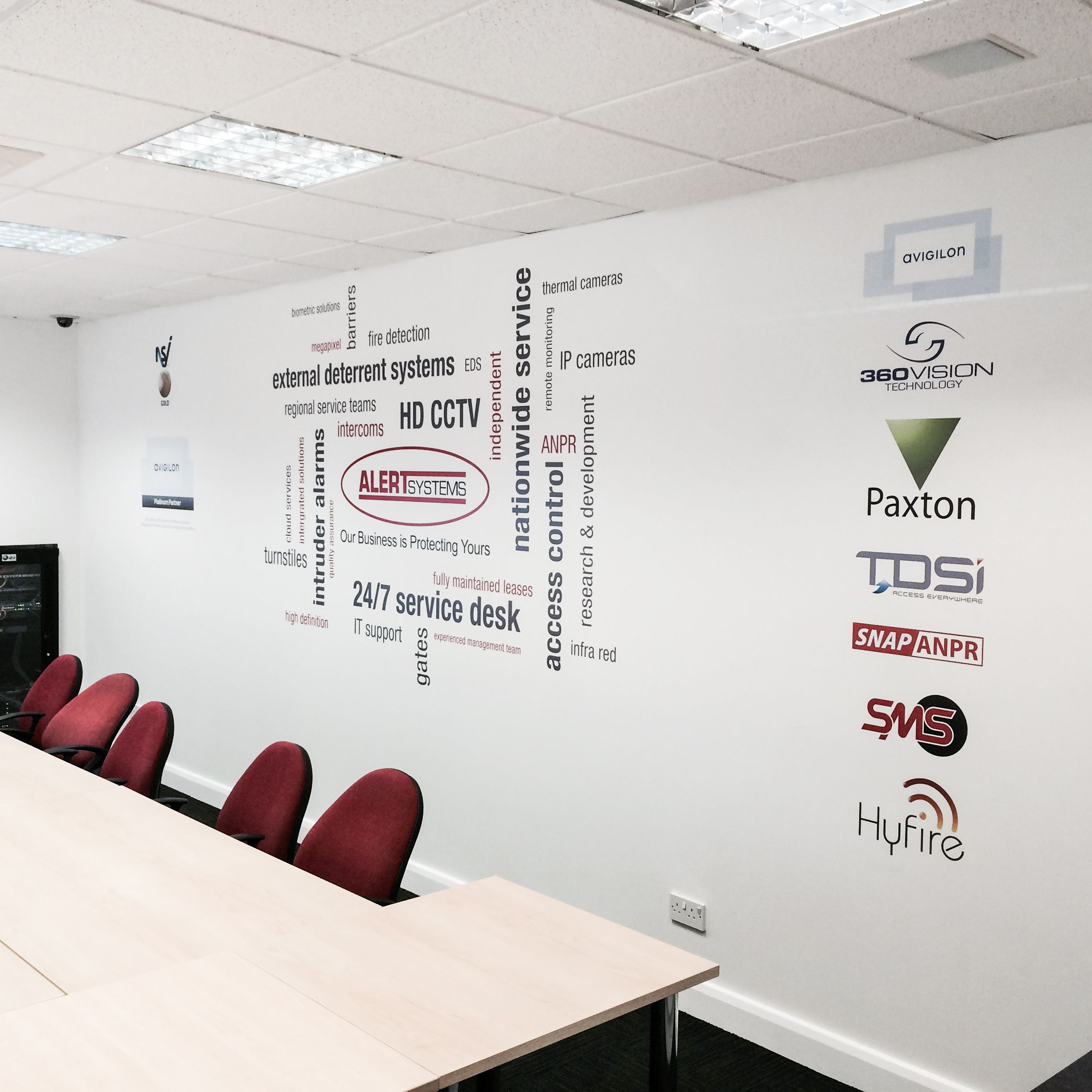 Word Cluster Wall Sticker In 2019 Word Cluster Office
