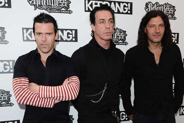 Richard Kruspe, Till Lindemann And Christoph Schneider