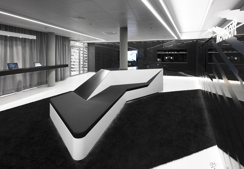 Office \ Workspace, Microsoftu0027s Briefing Center, Astounding - innovatives interieur design microsoft