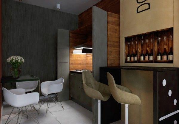 5 apartment designs under 500 square feet misc - 500 sq ft apartment layout ...