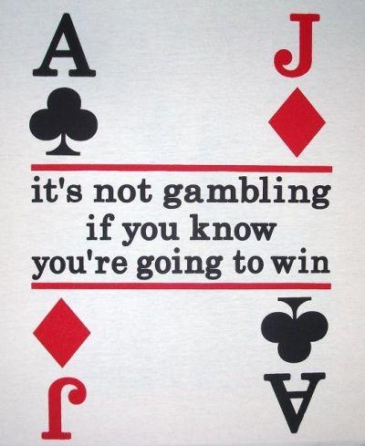 not gambling