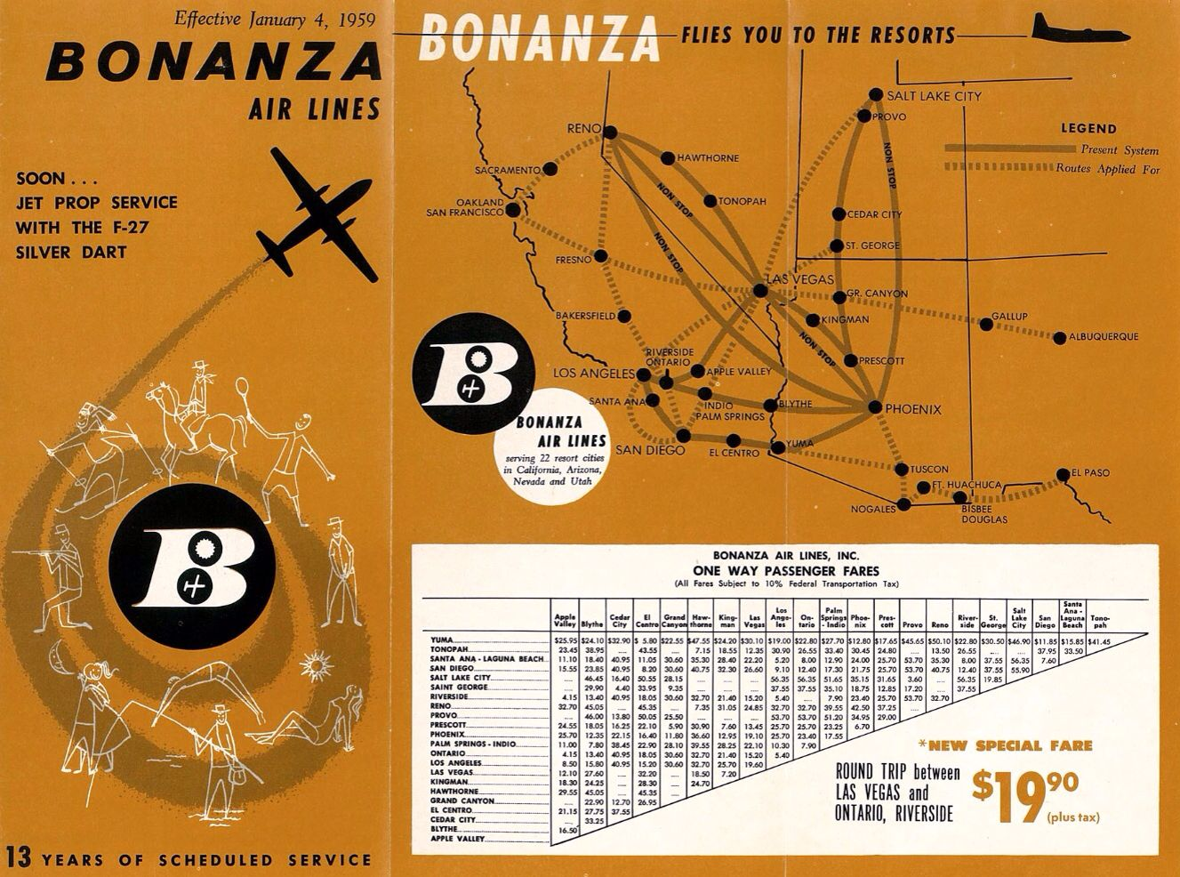 Bonanza Airlines 1950 | Old Aviation | Pacific ... on air florida route map, southwest airtran route map, southern airways route map, british airways route map, south west route map, britannia airways route map, south west airlines seat map, braniff international route map, south west airline from seattle map, southwest airlines flight routes map,