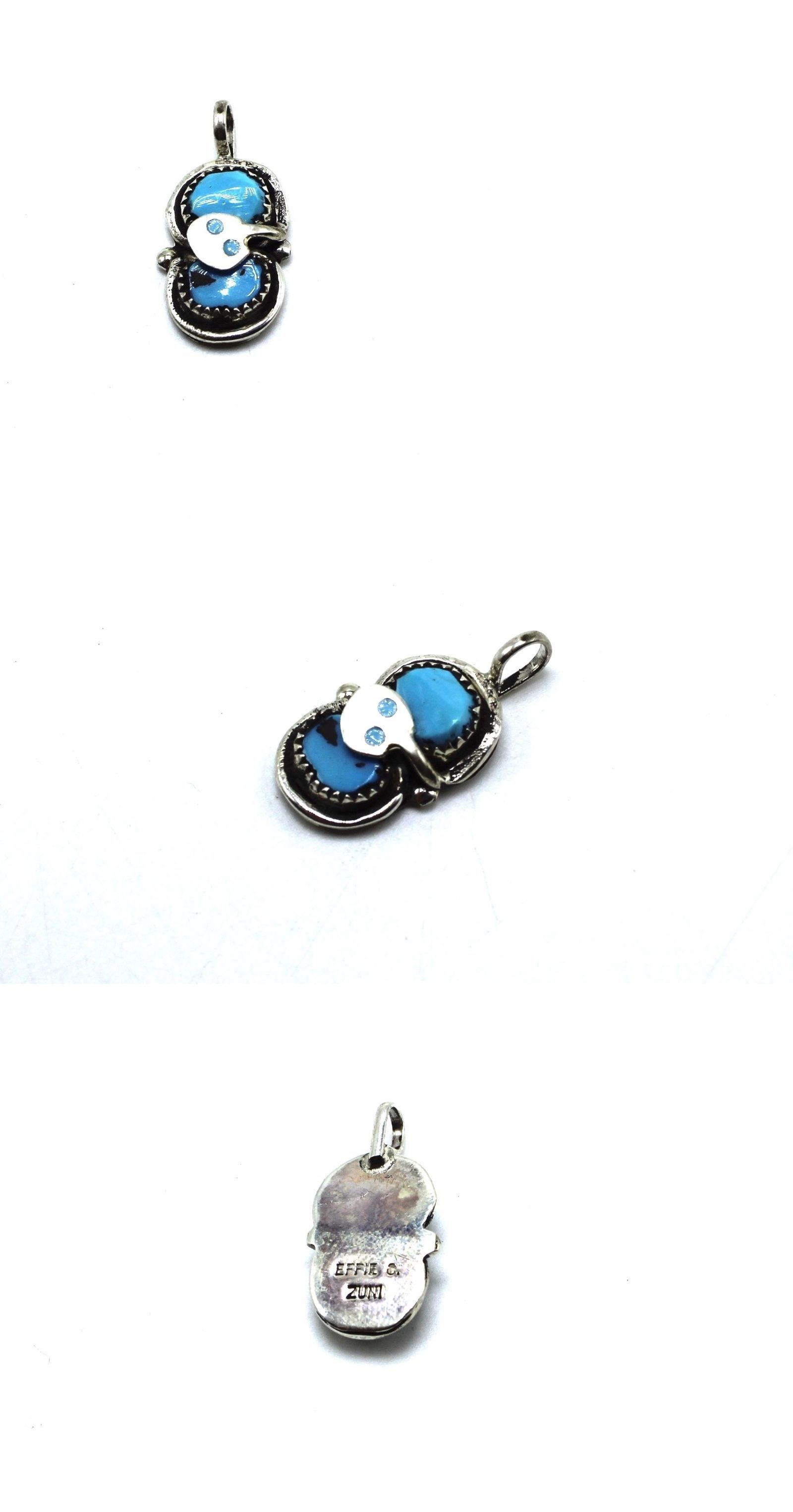 sterling loaded item w channel cannot turquoise mosaic chain pendant inlay be zuni full image