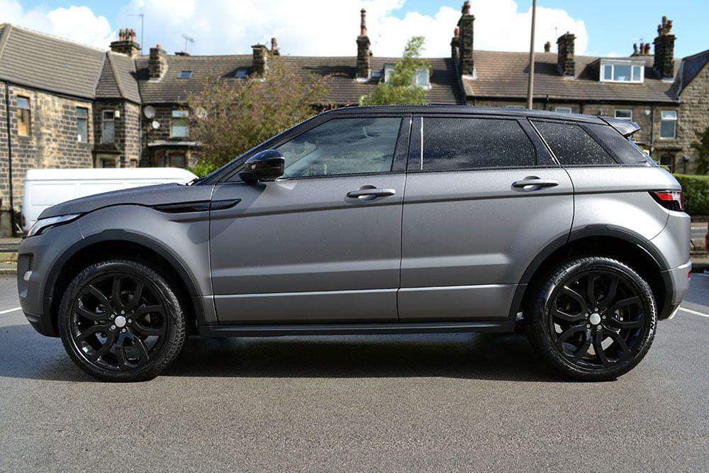 Matte Grey Metallic Range Rover Evoque Reforma Uk Range Rover Evoque Range Rover Range Rover Supercharged