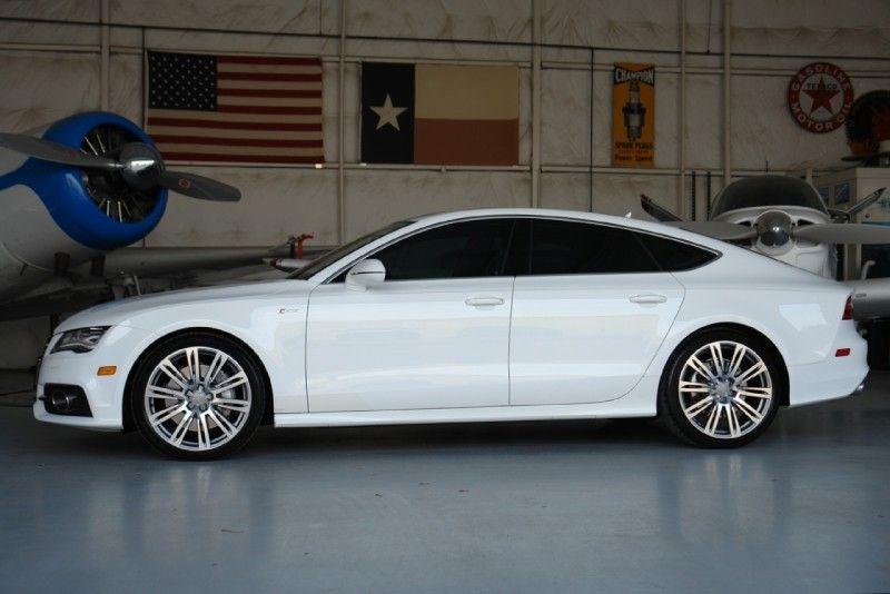 Audi A7 ~ White!