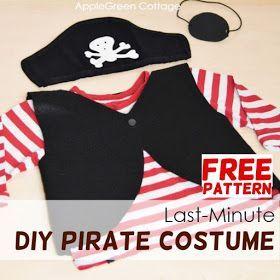 Diy Piratenkostüm - Wie erstelle ich ein Last-Minute-Piratenkostüm?,  #DIY #easykostum #ein #... #diypiratecostumeforkids