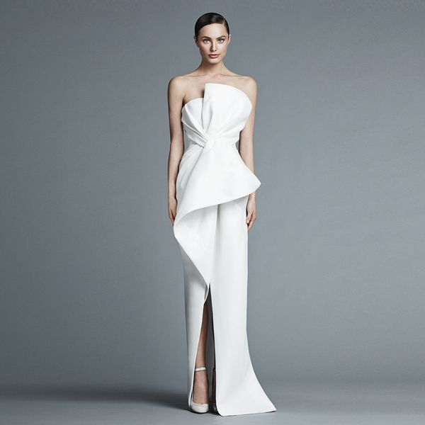 25 Sleek Wedding Dresses that Make a Modern Statement and Oozes ...