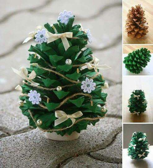Need to get some pine cones..