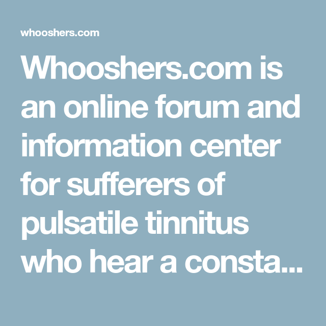 Whooshers com is an online forum and information center for