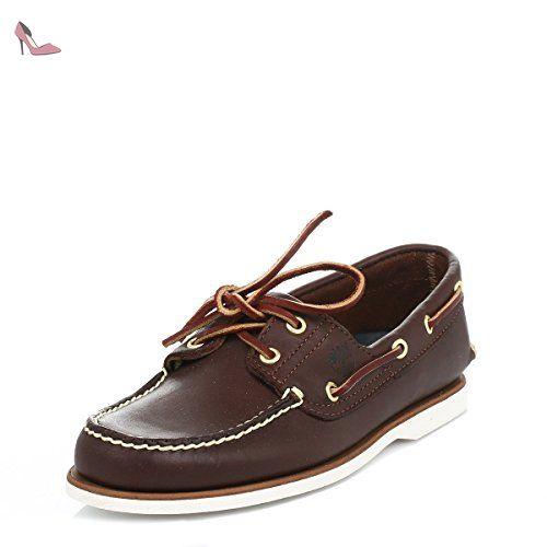 chaussure bateau garcon timberland