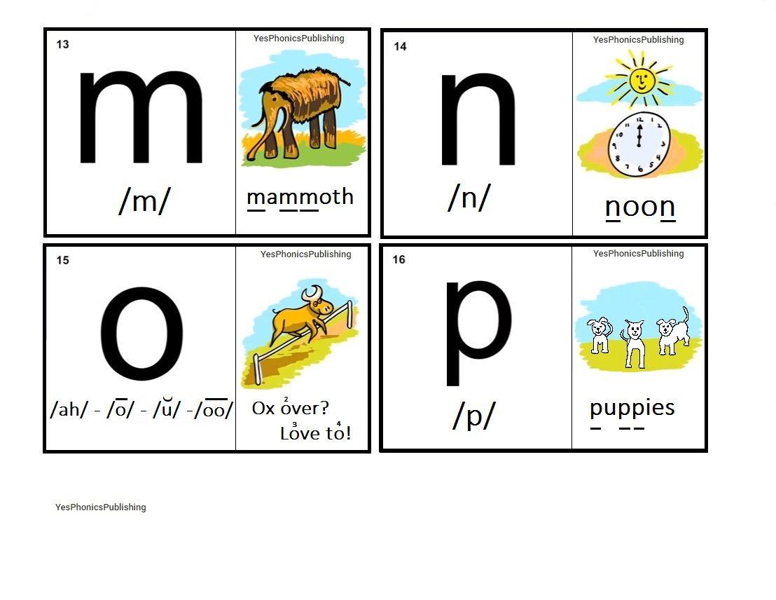 Orton Spalding Phonograms Illustrated Flash Cards M N O P Phonics For Kids Phonics Kindergarten Phonics Activities [ 856 x 1108 Pixel ]