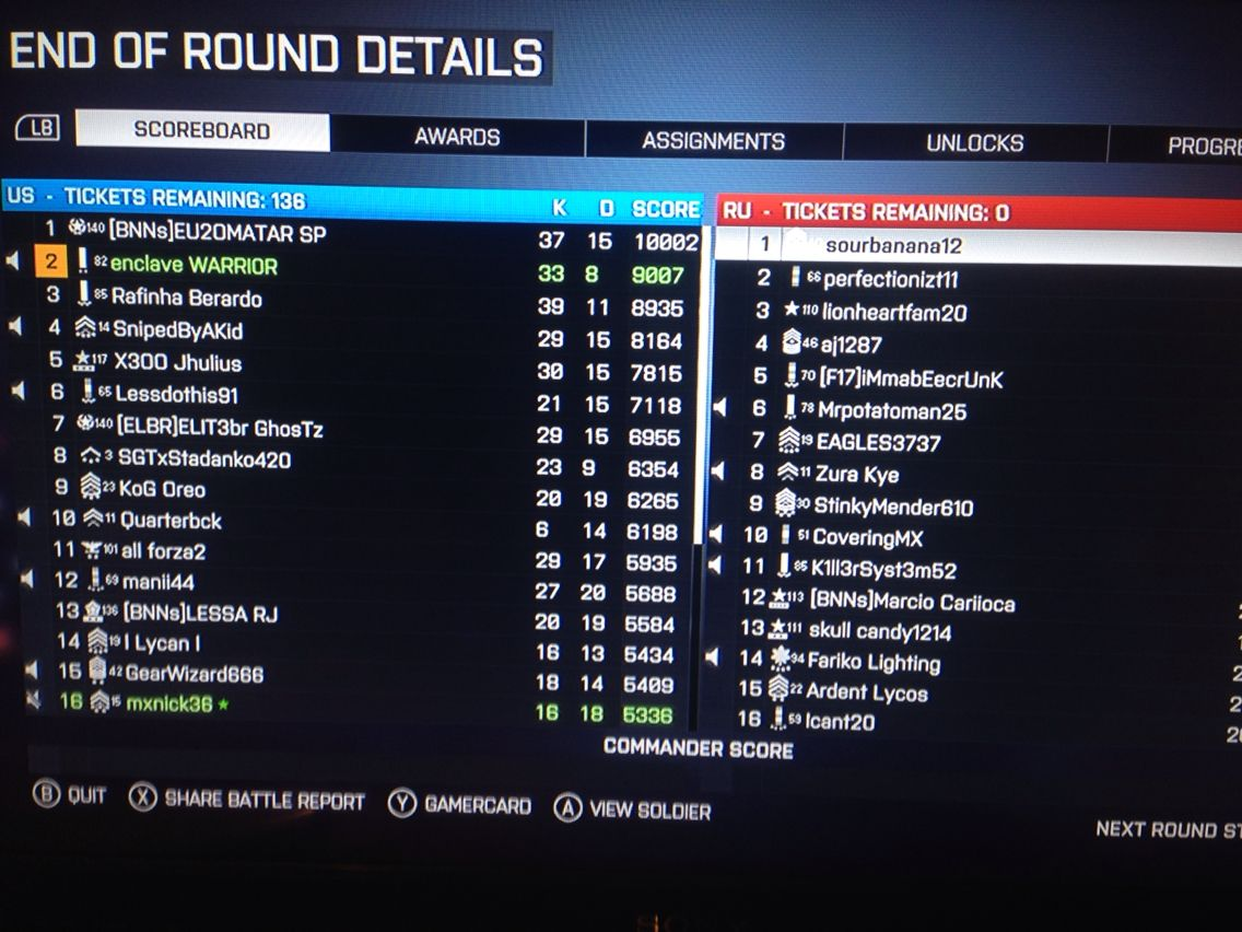 Awesome game of bf4 gamin with bros | Xbox 360 Xbox 1 ps 3