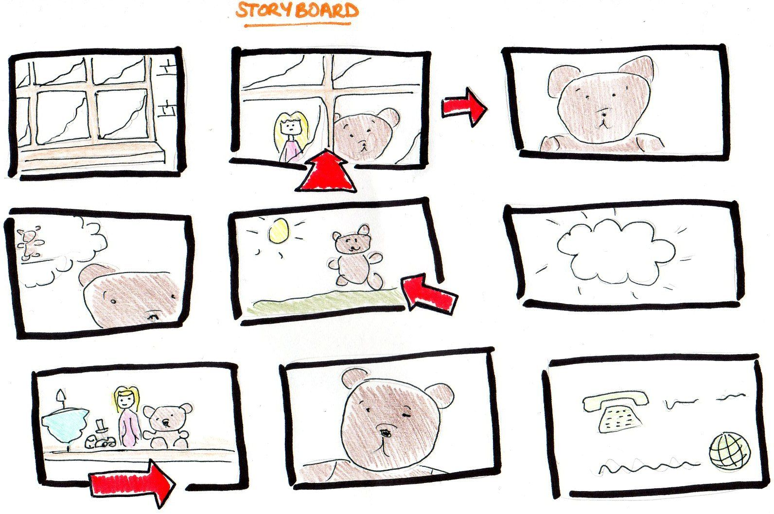 how to create a storyboard for animation