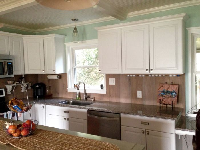 Kitchen Remodel - We went for a non-traditional back ...